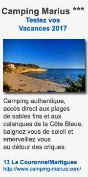 Camping Marius, Martigues